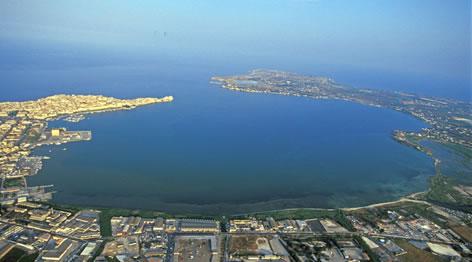 Vista Porto Grande di Siracusa
