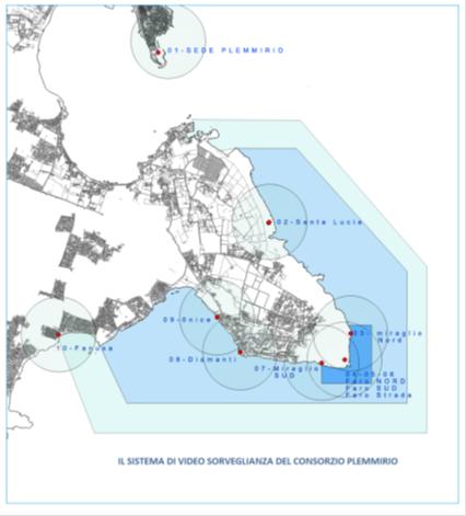 Mappa VideoSorveglianza