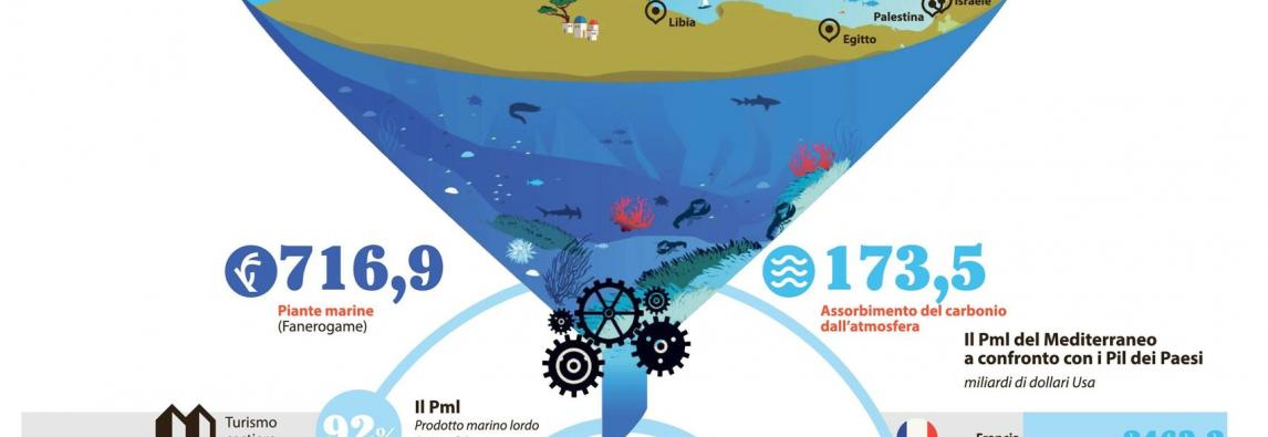Un Mediterraneo da 5.600 miliardi , il report di Wwf International