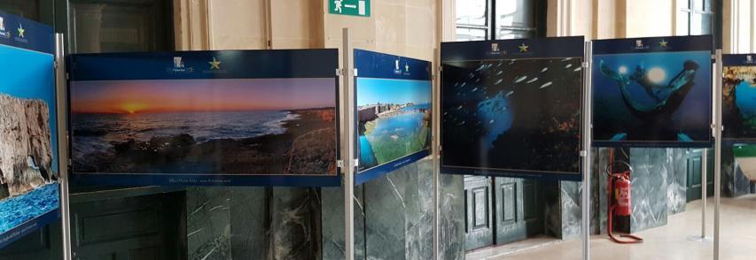 Mostra dell'Area Marina Protetta Plemmirio alla Capitaneria di Porto