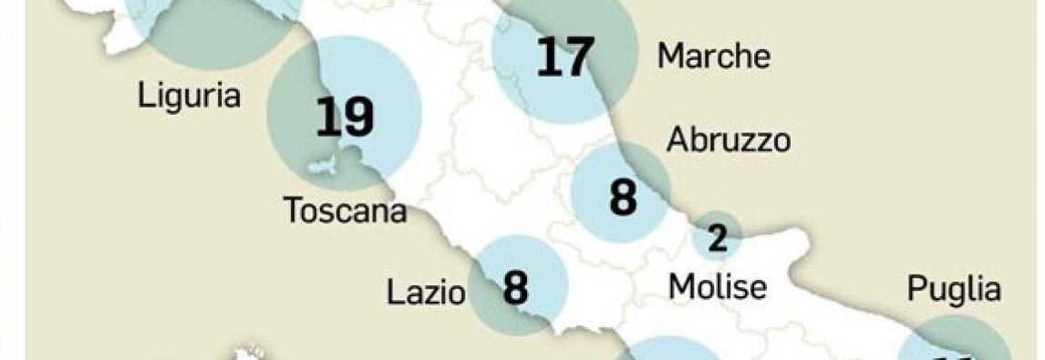 In Italia il mare è più pulito Liguria prima, 342 spiagge top