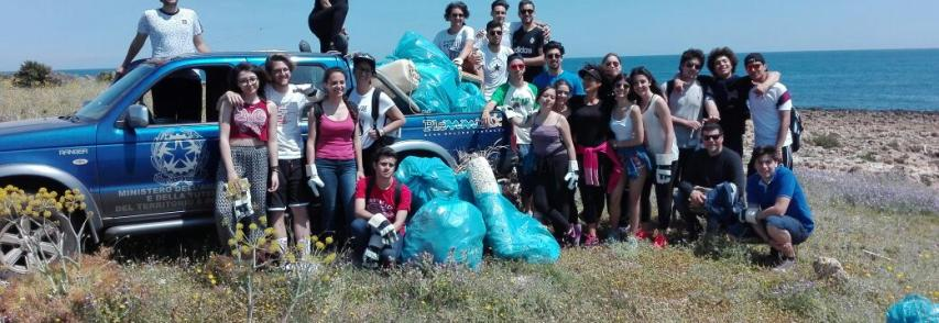 Giornata ecologica alla Pillirina con gli studenti del Gargallo