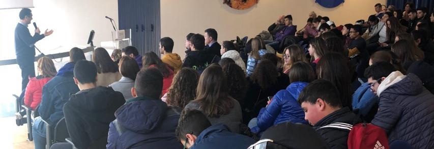 Archeologia subacquea spiegata agli studenti nella sala Ferruzza-Romano del consorzio Plemmirio