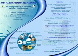 La salvaguardia e lo sviluppo del mar Mediterraneo, 8 aprile