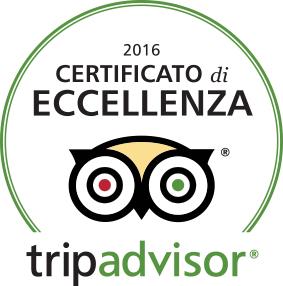 tripadvisor eccellenza 2016