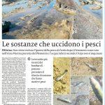 La Sicilia - le sostanze che uccidono i pesci di *Massimiliano Torneo