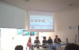 Conferenza stampa su EXPO e Territori nella sala del Plemmirio