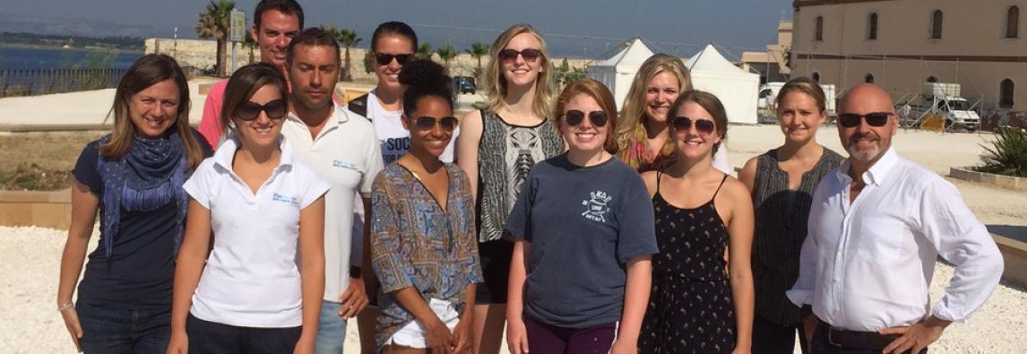 Studenti americani alla scoperta dell'AMP del Plemmirio