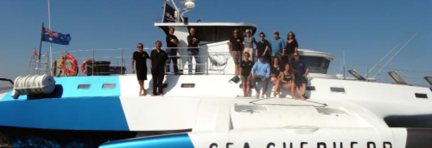 A Siracusa il trimarano di Sea Shepherd