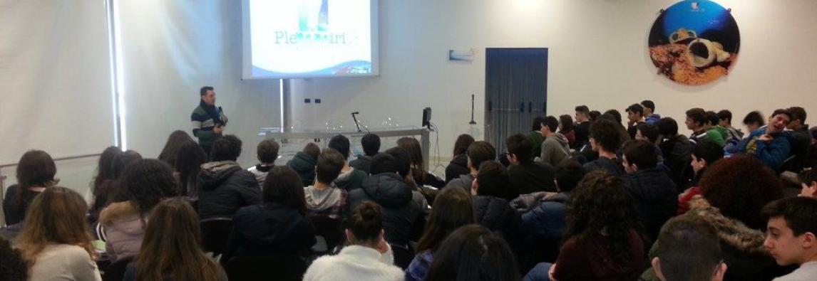 Lezione su Biodiversità ed Ecoturismo all'Amp del Plemmirio