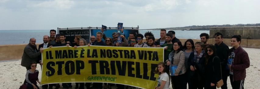 La salvaguardia e lo sviluppo del mare Mediterraneo all'Amp del Plemmirio con Greenpeace , Arpa e Ispra