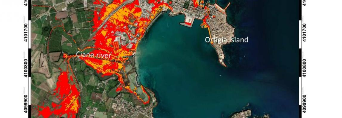 Studio INGV ed Università di Catania – Gli effetti dei cambiamenti climatici sulle coste della Sicilia sud-orientale Studio INGV ed Università di Catania – Gli effetti dei cambiamenti climatici sulle coste della Sicilia sud-orientale