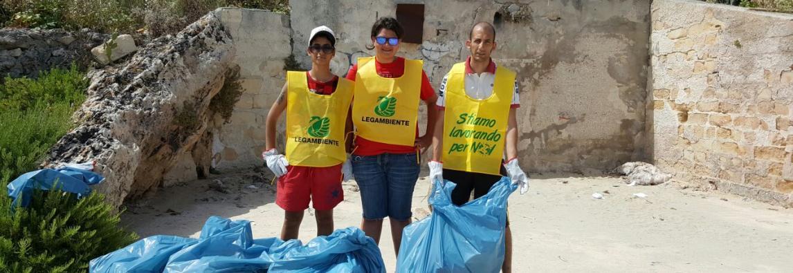 Spiagge e fondali puliti 2016 in Area Marina