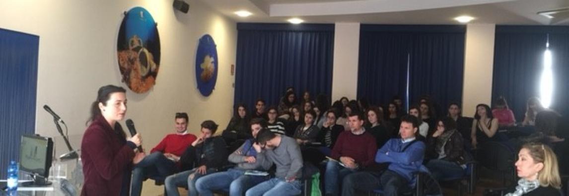 Le scuole a lezione di Bioarchitettura all'Amp del Plemmirio